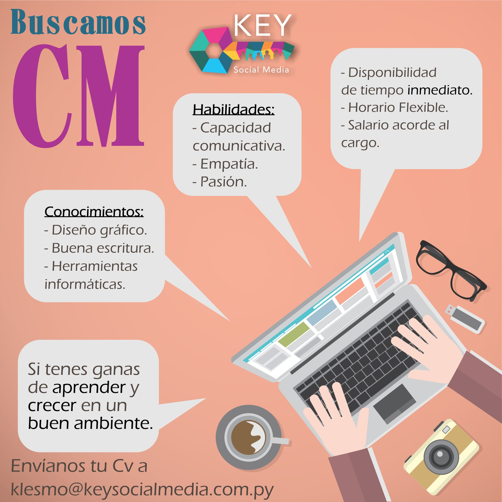 Agencia Digital busca Community Manager