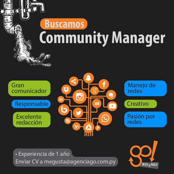 Agencia busca Community Manager