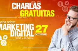 Charla Gratuita sobre Marketing Digital