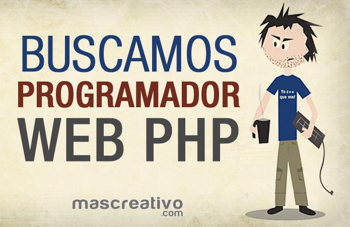 Oferta laboral para programador php