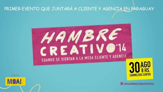 Hambre Creativo- Workshop