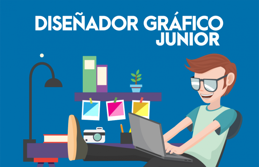 Oferta laboral para Diseñador Gráfico Junior