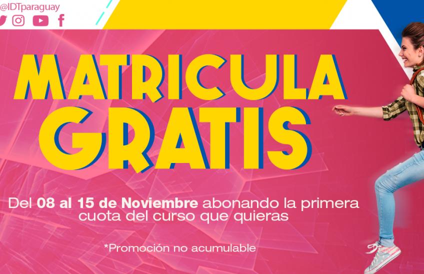 Promo Noviembre en IDT