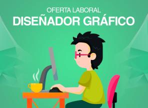 oferta laboral diseñador gráfico
